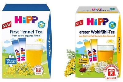 HiPP Baby Fennel/ Wellness Tea x15 Healthy drink for babies