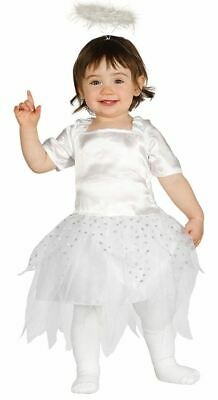 Toddlers Little White Angel Halo Christmas Nativity Fancy Dress Costume Outfit