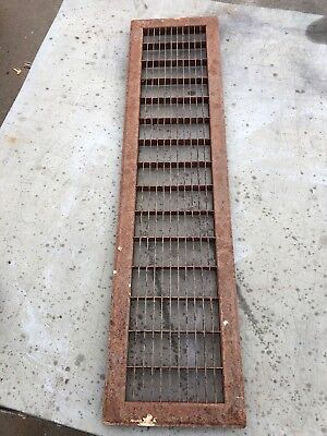 N4. Antique Sheet Metal Cold Air Return Or Heating Grate