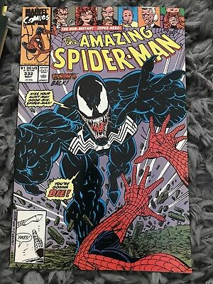 Amazing Spider-Man #332 May 1990 NM- Venom! Tom Hardy Film Out 3 Oct