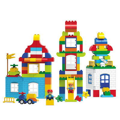 133Pcs House Building Blocks City DIY Creative Bricks Educational Toy Gift For