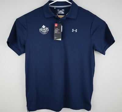 Under Armour Mens Polo Shirt L Toronto Maple Leafs NHL Hockey Fathers Trip 2017