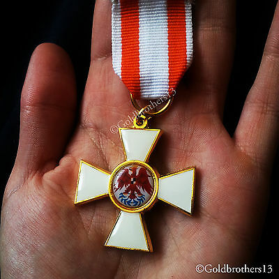 Order of the Red Eagle 1st Class Prussia Military Medal WW1 German Repro