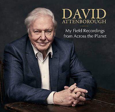 David Attenborough My Field Recordings From Across The Planet 2CD+Deluxe Booklet