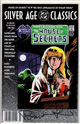 DC Silver Age Classics House of Secrets #92 Signed by Bernie Wrightson