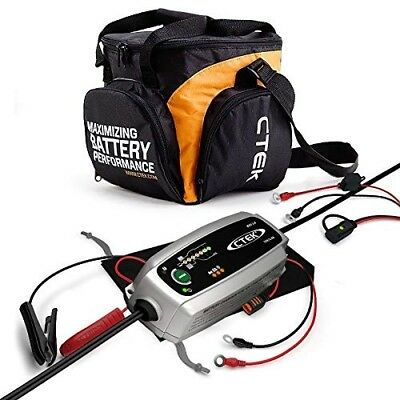 CTEK MXS 3.8 Automatic Battery Charger (Charges And Maintains Car And 12V, 3.8