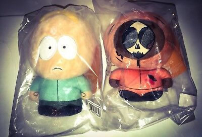 """SOUTH PARK BUTTERS + DEAD KENNY 8"""" Plush KIDROBOT Phunny Figures"""