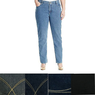 6348d4c0732 Lee Riders Women s Irregular Plus Indigo Relaxed Fit Straight Leg Denim  Jeans