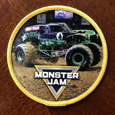 Monster Jam Iron On Patch featuring Grave Digger 2018