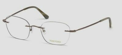 6b919662a4d2 New Tom Ford Tf 5341 036 Clear bronze Eyeglasses Rx Frame Ft5341 Size 49