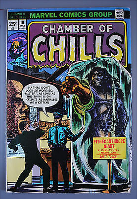 Chamber of Chills     (1972)     #10     Marvel Comics     VG/Better