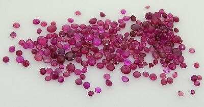 Mixed Round Rubies 12.44ct Natural Loose Gemstones
