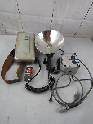 Norman 200B, Lamp Head, Super Battery, Modified Charger