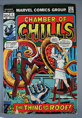 Chamber of Chills     (1972)     #3     Marvel Comics     VG/Better