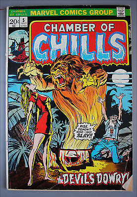 Chamber of Chills     (1972)     #5     Marvel Comics     VG/Better