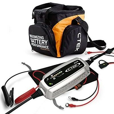 CTEK XS 0.8 12v 0.8A 6-Step Automatic Battery Charger With Comfort Indicator