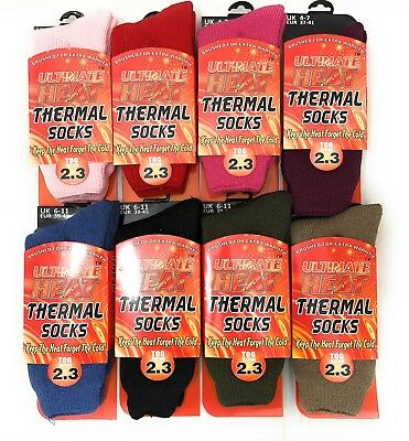 Mens Ultimate Thick Hot Winter Warm Thermal Socks Ultimate Heat 2.3 TOG