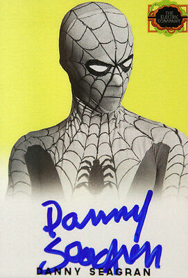 1974-77 Danny Seagren Electric Company Spiderman Signed LE Trading Card (1)