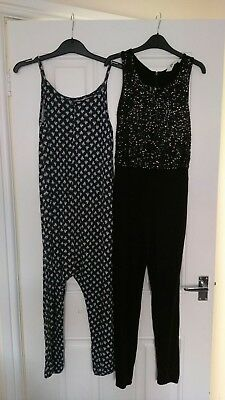 2 x girls jumpsuits Next, H&M 9-10 years