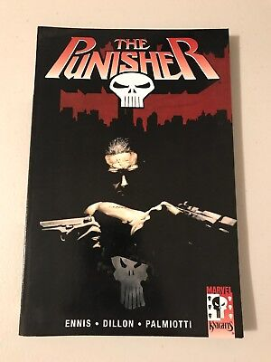 The Punisher: Army of One Marvel Graphic Novel + FREE random comic