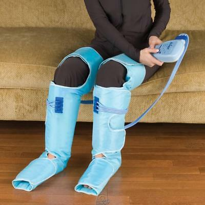 Hammacher Air Relax Circulation Swelling Improving Leg compression Wraps boots