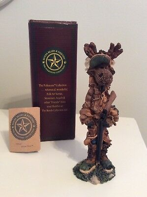 Boyd's Folkstone Ernest Hemmingmoose The Hunter 1st Edition With Orig. Packaging
