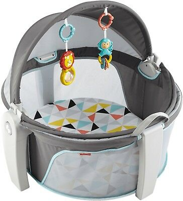 New Fisher Price Baby Dome On the Go with Canopy - Color: Windmill