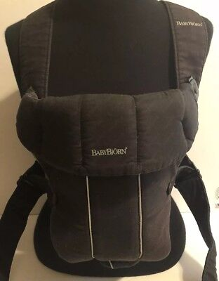 Baby Bjorn Black Baby Carrier Adjustable Infant Carrier