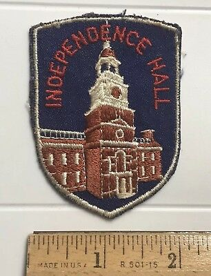 Independence Hall Philadelphia Pennsylvania Souvenir Patch Badge