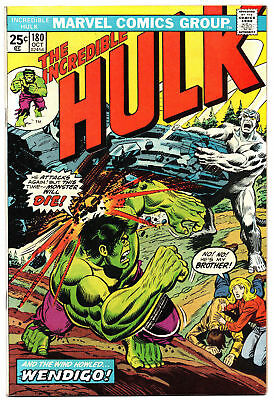 Hulk #180-1st App Wolverine-STAN LEE COLLECTION INVESTMENT!-Mark Jewelers Insert