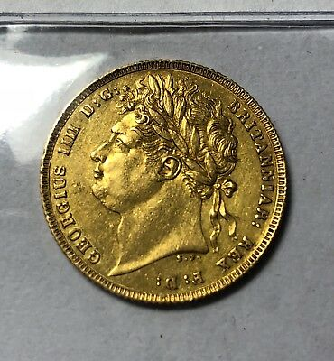 1821 Sovereign George Iv  ®-1278