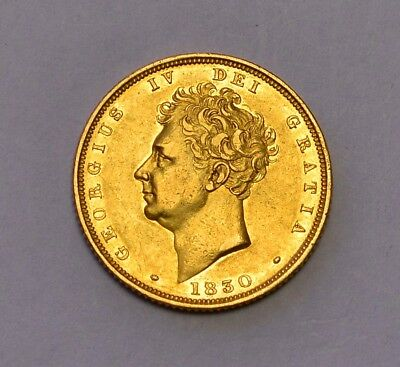 1830 sovereign  George IV  ®-1333