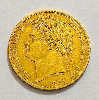 1822 Sovereign George Iv   ®-1232