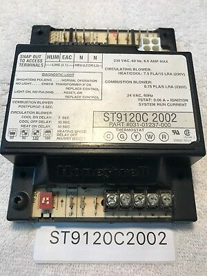 Honeywell Furnace Circuit Control Board St9120c 4057 St9120c4057. Honeywell St9120c2002 Furnace Control Circuit Board 03101237000. Wiring. Wire Diagram Honeywell St9120c 4057 At Scoala.co