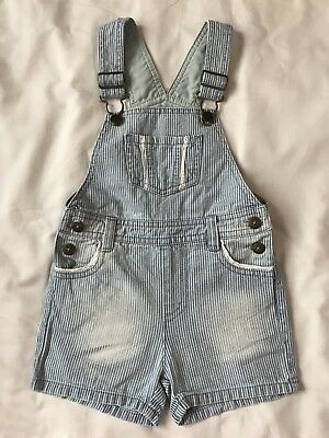 Mantaray Baby Girls Dungarees Age 18-24 Months