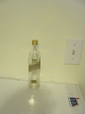 Johnnie Walker Gold Label Reserve Scotch Whiskey EMPTY Bottle 200 ml