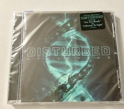 Disturbed - Evolution [cd] Released On 9/10/2018  New and Sealed