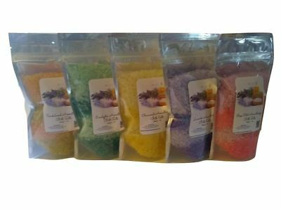 Bath Salts - (5) 1lb Bags ~ Aromatherapy Lot ~ Five Aromatherapy Scents