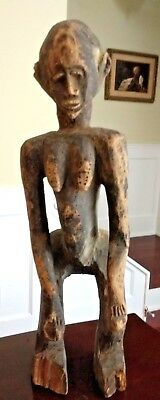 Antique African Senufo Maternity Figure - Ivory Coast - Early 20th Century