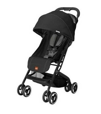 Gb Qbit Stroller Monument Black  New In Box Free Shipping