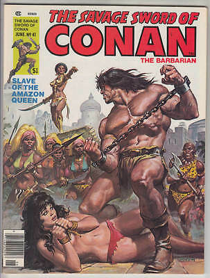 Savage Sword Of Conan #41 Nm 9.4