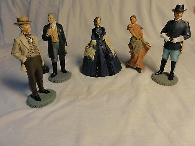 GONE WITH THE WIND Franklin Mint Figurine Sculpt Collection 5 Figurine1989-1990
