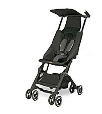 Gb Pocket Stroller Lightweight Monument Black New In Box Free Shipping