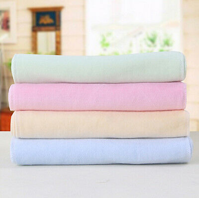 Baby Children's Kids Soft Pure Velvet Face Bathing Washer Cloth Healthy Towels