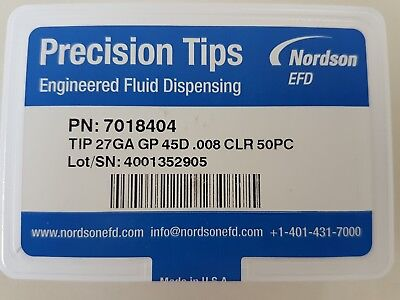 Nordson EFD precision fluid tips P/N 7018404