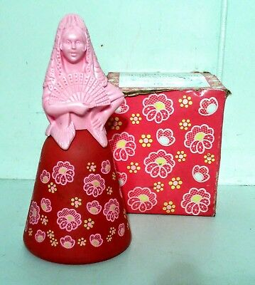 Avon Spanish Seniorita -- To A Wild Rose Cologne -- Full -- With Box-Collectible