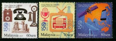 Malaysia 2015 MNH MUH Set - 150 Years International Telecommunication Union ITU