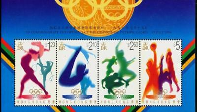Hong Kong 1996 MNH MUH M/S - Olympic Games (Series I)