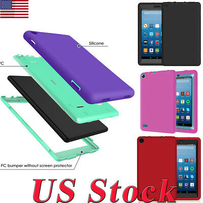 Tablet PC Shockproof Case Cover For Amazon Kindle Fire 7 5/7th Gen HD 8 Tablet