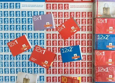 BRAND NEW 1st 2nd Class Postage Stamps - Letter & Large Letter